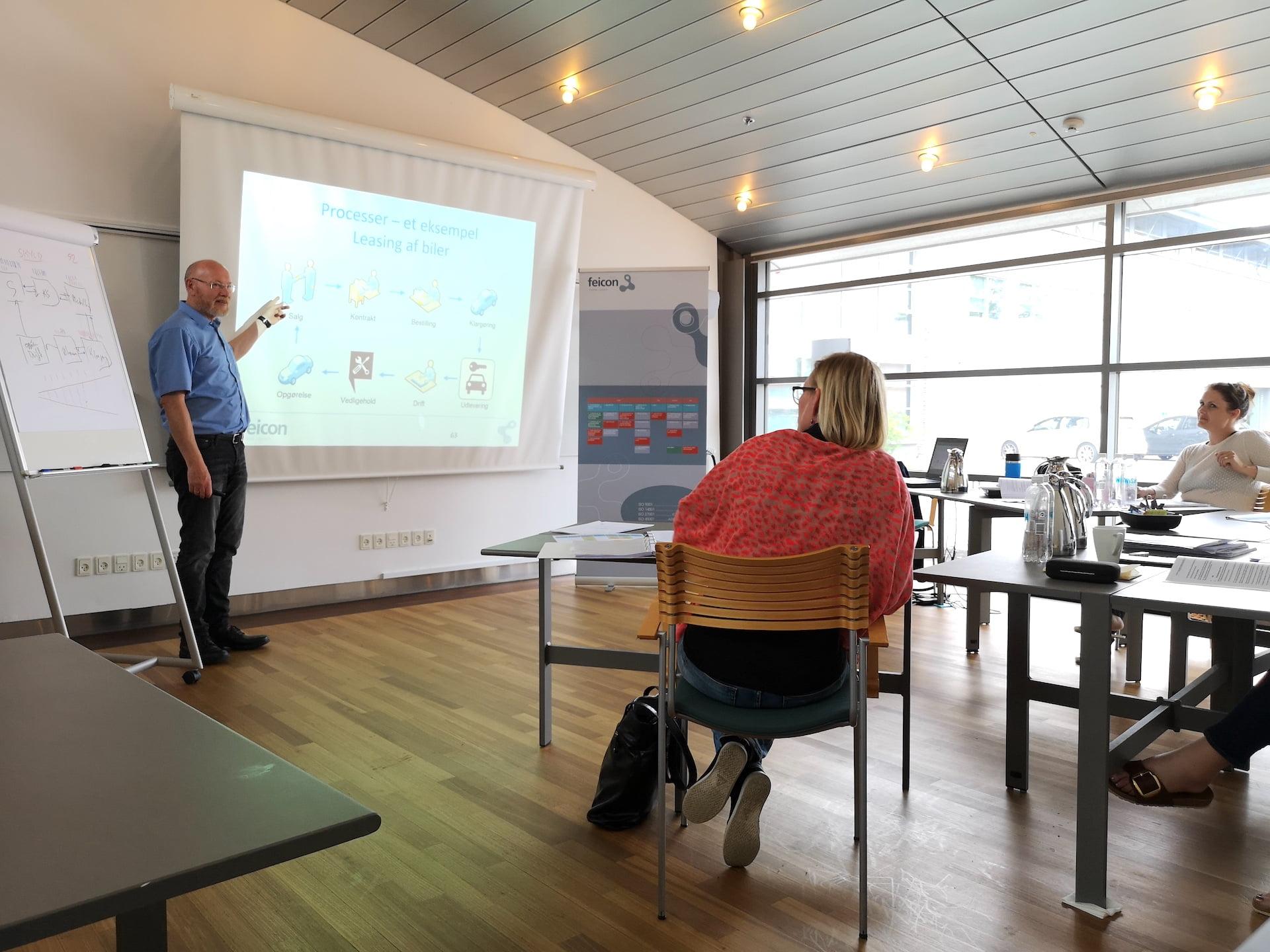 ISO kurser i Danmark