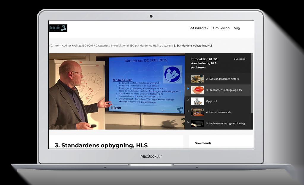 online ISO kurser